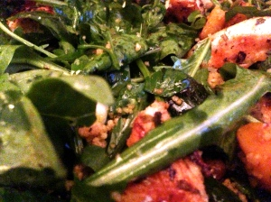 Superfood salad (bad shot the blame of fatigue)