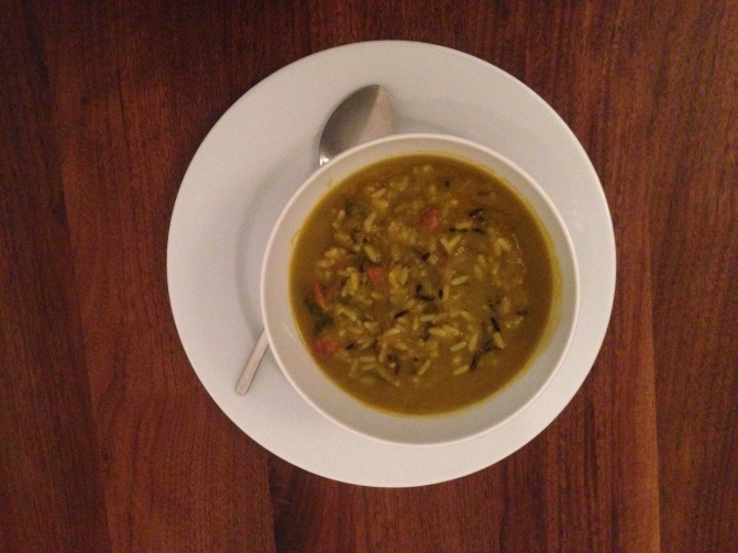 juicy meaty vegetable soup